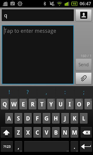 French for ICS keyboard