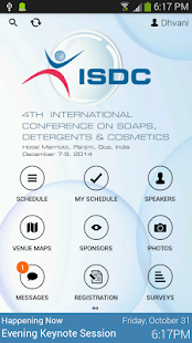 ISDC 2014 - screenshot