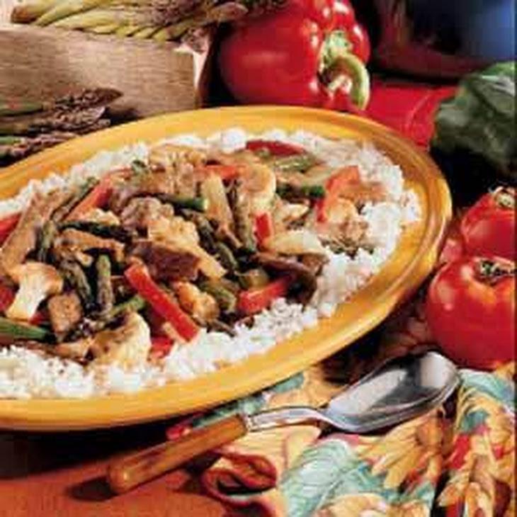 Beef and Asparagus Stir-Fry Recipe   Yummly