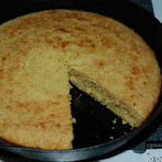 Miss Kitty's Organic Skillet Cornbread