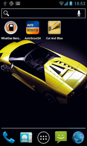 Supercars Lite Live-Wallpaper