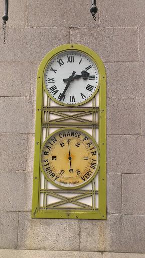 Barometer on Broad Street