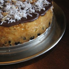 Chocolate Coconut Almond Cheesecake