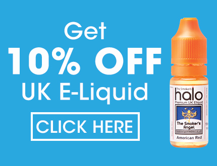 10% off UK E-Liquid