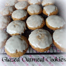 Glazed Oatmeal Cookies