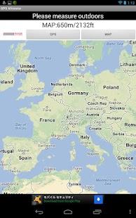GPS Höhenmesser – Miniaturansicht des Screenshots
