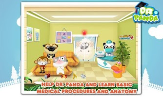 Screenshot of Dr. Panda's Hospital - Free