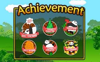 Screenshot of Parkour Panda Running Panda