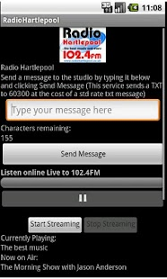 Radio Hartlepool official Ap - screenshot