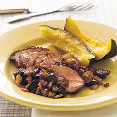 Pork Tenderloin with Balsamic Onion-Fig Relish