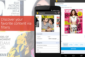 Screenshot of readwhere - News & Magazines