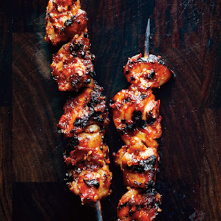Sambal Chicken Skewers