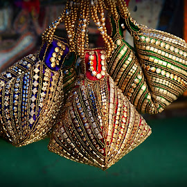 Silk Purses by Prasanta Das - Artistic Objects Clothing & Accessories ( silk, hand made, purses )