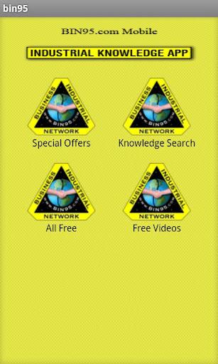 Industrial Knowledge App