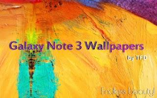 Screenshot of Galaxy Note 3 Wallpapers