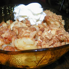 Pampered Chef Style Apple Crisp (For Microwave or Oven)