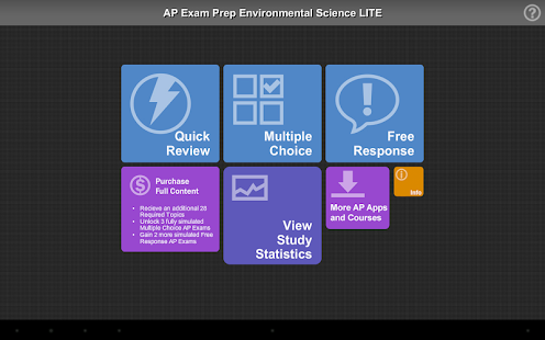 AP Exam Prep Enviro Sci LITE - screenshot