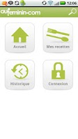 Screenshot of Cuisine auFeminin : recettes