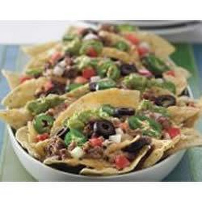 Cheesy Beef Nachos