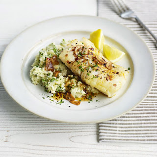 Sticky Cod With Celeriac & Parsley Mash
