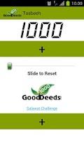 Screenshot of Free Tasbeeh -1000 Good Deeds