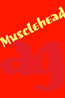 Screenshot of Musclehead FlipFont