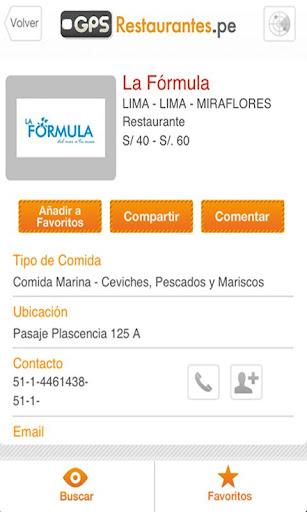 GuiaGPS Restaurante