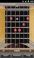 Screenshot of Reverse Chord Finder Free