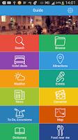 Screenshot of Bangkok Guide, Hotels, Weather