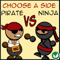 Pirate Vs Ninja