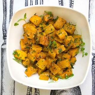 ROASTED GARLICKY BUTTERNUT SQUASH