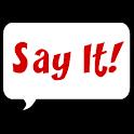 Say It! Text to Speech Widget