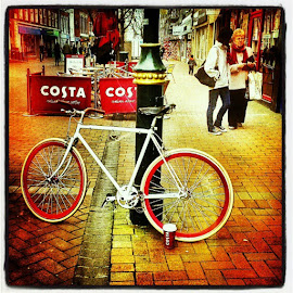 Coffeebreak by Mark Heath - Transportation Bicycles
