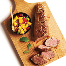 Pork Tenderloin with Mango Salsa