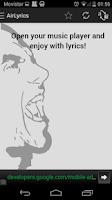 Screenshot of AirLyrics - Lyrics translation