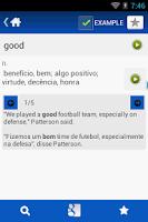Screenshot of Portuguese English Dictionary