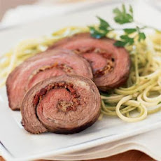 Stuffed Rolled Flank Steak
