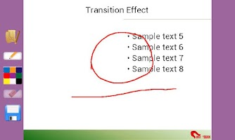 Screenshot of Touchshow Powerpoint Player