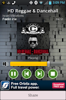 Screenshot of Cacoteo HD Mobile Radio