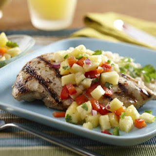 Grilled Mojo Chicken with Pineapple Salsa