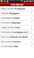 Screenshot of Ciné Movida