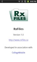 Screenshot of RXFiles