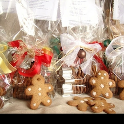 Gingerman Cookies And Gift