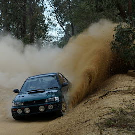 Sand Spray by Jefferson Welsh - Sports & Fitness Motorsports