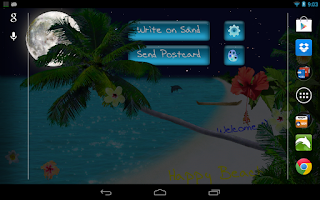 Screenshot of Beach Live Wallpaper Pro