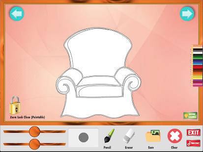 Coloring Game Furniture Apk 1 0 0 Free Educational