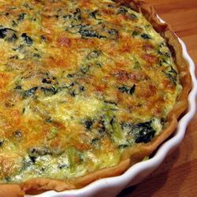 Best Spinach Quiche