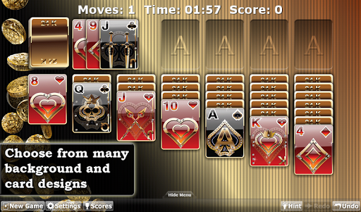 Solitaire by E4 Software - screenshot
