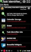Screenshot of Task Identifier Lite