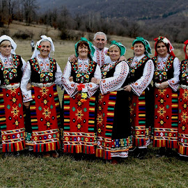 Bulgarian by Glyn Thomas Jones - People Musicians & Entertainers ( singers, traditional, group, folkmusic, bulgarian, bulgaria,  )